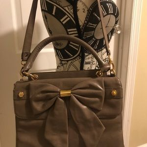 Gianni Taupe Shoulder Bag
